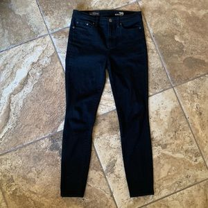 J Crew Black High Rose Skinny Jeans Size 29